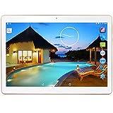 YUNTAB 3G Tablet 10.1 Zoll 3g Tablet Pc - 3G - Android 5.1 Lollipop - Telefonieren - GPS- Navigation - 1GB RAM - 16GB - Kamera 2 Mps - Bluetooth 4.0 (Weiß)