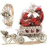 Skylofts Horse Chocolate Decoration Piece Gift ( 10Pcs Chocolates) (With Womens Watch)