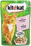Kitekat - Alimento per Gatti, Con Salmone in Salsa - 100 g