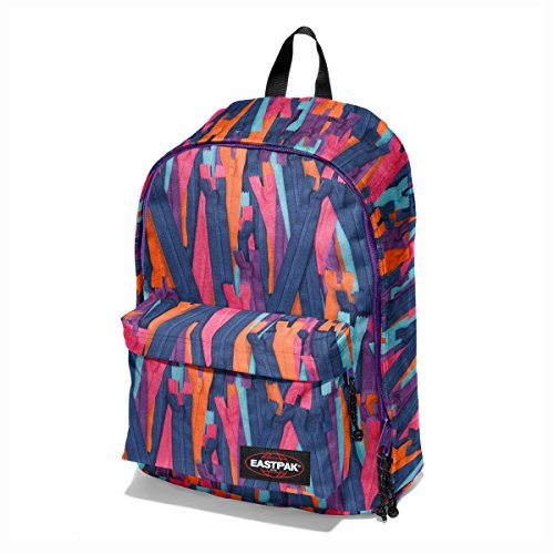 Eastpak Out Of Office Mochila Tipo Casual, Diseño Zip Bold, 27 Litros, Color Multicolor