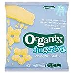 Organix Finger Foods Cheese Stars 20...