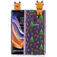 Everainy Samsung Galaxy Note 9 Silikon Hülle 3D Weihnachts dünn Durchsichtig Hüllen Handyhülle Gummi Samsung Note... preisvergleich bei billige-tabletten.eu