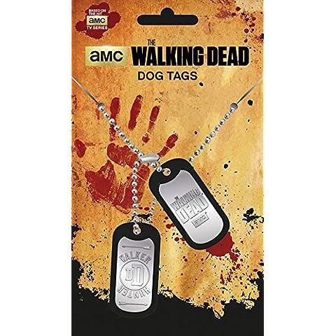 Colgante chapas identificativas The Walking Dead