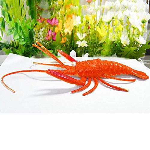 CUTICATE Große Lebensechte Krebse Modell Abbildung Halloween Witz Prop Tier Spaß Spielen Spielzeug (Spaß Spiele Für Kinder Für Halloween)