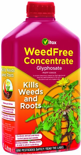 Vitax Vitax Weed Killer Weedfree concentrato, 1 litro - Moss Killer
