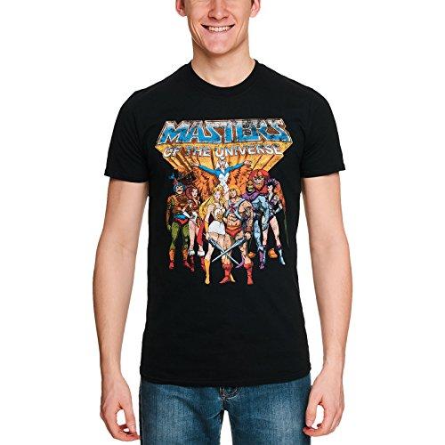 Masters of the Universe - Classic Characters Herren T-Shirt - Schwarz, Große:L