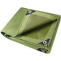 lonas Ejército de fibra de color verde y tela de lluvia gruesa Protección solar a prueba de 10 tipos de tamaño se puede utilizar para almacenes Camiones de construcción Fábricas y empresas Muelle de G