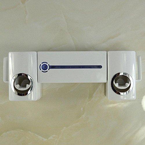 Holzkohle Grau Streifen (UV Zahnbürste Sterilisator automatische Squeeze Zahnpasta Gerät Zahnbürste Rack Wash-Set)