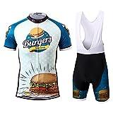 Thriller Rider Sports® Herren Burgers Sport & Freizeit MTB Fahrradbekleidung