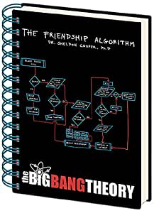 The Big Bang Theory A5 Friendship Algorithm Notebook