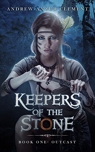 Book cover image for Outcast: Keepers of the Stone Book One (An Historical Epic Fantasy Adventure)