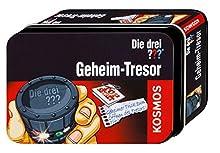 Die Drei ??? Geheim-Tresor / Kleine Dose (Drei Fragezeichen). Detektiv-Set