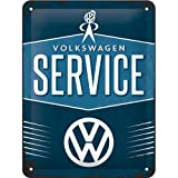 Nostalgic-Art 26184 Volkswagen - VW Service, Blechschild 15x20 cm