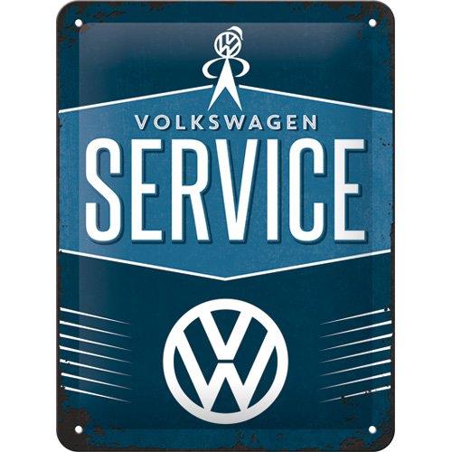Nostalgic-Art 26184 Volkswagen - VW Service, Blechschild 15x20 cm -