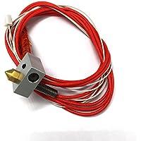 Hictop 3D-Drucker 24V Hot End Assembled Extruder Kits Teile Zubehör Nozzle Glühfaden Direkteinzug