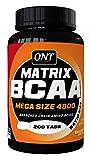 QNT - Matrix BCAA 4800 - 200 capsules - 2400mg L-leucine - 1200mg L-Isoleucine -...