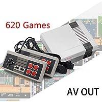 lindames 620 Juegos en 1 Consola de Juegos con 2 Controladores de Juegos de TV Retro clásicos. Accesorios