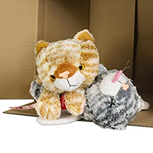 getDigital 12045-Gato de Gato Nerd Geek de Peluche-Peluche
