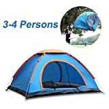 #5: 247tecksouk® Portable Picnic Camping Tent Portable Waterproof Tent Outdoor and Camping Tent (For 3-4 Person)