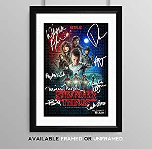 Stranger Things Cast Signed Autograph Signature ...