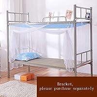 Moskitonetz Student-Shop Einzelbett Polyester Atmungsaktiv Anti-Moskito-Reißverschluss Staubschutz Geeignet für 3,3 Fuß / 4 Fuß Bett
