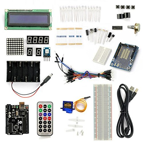 SainSmart NEW UNO R3 Starter Kit With 19 Basic Arduino