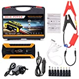 Meatyhjk 89800mAh 4 USB Portable Car Jump Starter Pack Booster Charger Battery Power