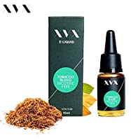 XVX E Liquid  Tobacco Blend Flavour  Electronic Liquid For E Cigarette  Electronic Shisha Liquid  10ml Bottle  Needle Tip  Precision Pouring  Choose Your Lifestyle  New For 2016  Digital Smoke  Nicotine Free  Tobacco Free