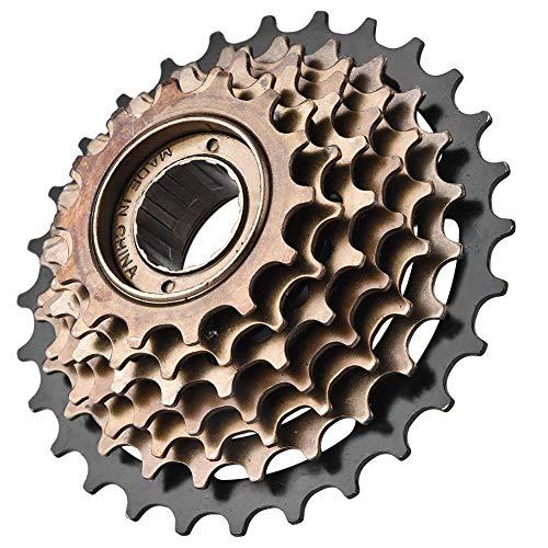 VGEBY1 Fahrradfreilauf, Fahrradkassette Schwungrad Kettenrad 7-Gang-Freilauf für Mountainbikes Radfahren Ersatzzubehör