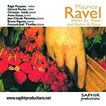 Ravel - Works for piano and violin & piano
