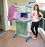 #6: PAffy Cloth Drying Stand - Prince Jumbo - 2 Poll - 3 Layer - 7 Year Warranty
