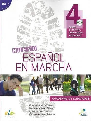 Nuevo Español en marcha 4 ejercicios + CD (Nuevo Espanol en Marcha)