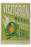 Puzzle Retro Cucina vegetariana Stampato 120 Tasselli