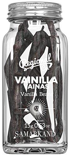Vanilleschoten - Vanillestangen Madagaskar Premium 15 gr (Vakuum-verschlossen und in Einem Glasgefäß Verpackt)