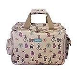 zellie PIP und Friends Abenteuer, Bag–Baby große Wickeltasche mit einfachen Zugang Top Öffnung–geeignet für Gebrauch als Krankenhaus Tasche oder Reisetasche–Wickelauflage im lieferumfang enthalten. Der Marke nicht vor Tee.