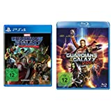 Guardians of the Galaxy - The Telltale Series [PlayStation 4] + Guardians of the Galaxy 2 [Blu-ray] + Guardians Of The Galaxy: Awesome Mix, Volume 1