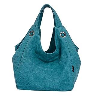 372a7c6f6d5db Hffan Damen Mädchen Student Große Kapazität Einfarbig Reisen Canvas Tasche  Umhängetasche Damenhandtaschen Schultertaschen Handtaschen Klein Rucksäcke