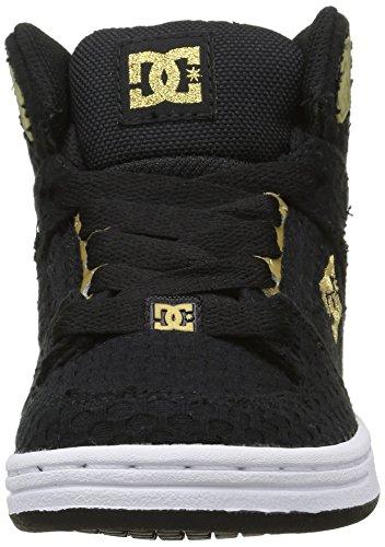 DC Shoes  Rebound Tx Se, Sneakers Basses Fille Noir (Bg3)