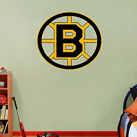 Boston Bruins NHL Hockey Home Decor Art Wall Vinyl Sticker 55 x 55 cm