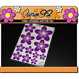 Aurum92 Gorgeous Purple Daisy Stickers