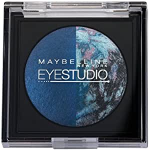 Maybelline New York Eye Studio Color Pearls Marbleized Eyeshadow, Navy Narcissist