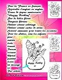 Telecharger Livres Pour la France en francais Apprendre l anglais en anglais Voeux de joyeux anniversaire Happy Birthday Sur de belles fleurs Bouquets floraux Utiliser un message ici Par artiste Grace Divine (PDF,EPUB,MOBI) gratuits en Francaise
