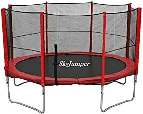 SkyJumper 12 Feet Trampoline with Enclosure