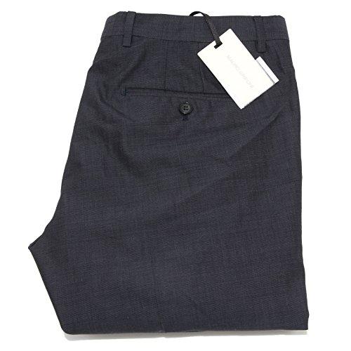 9180M pantaloni uomo grigi MAURO GRIFONI lana cotone men trousers pants [52]