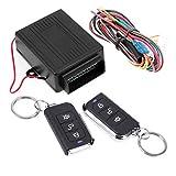 TOOGOO 12V Sistemi di Allarme per Auto Universali Kit di Chiusura Centralizzata per Portiere Sistema di Accesso Senza Chiave Sistema di Chiusura Centralizzata con Telecomando