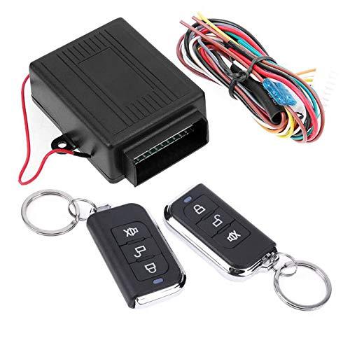 Moligh doll 12 V Universal Auto Alarm Systeme Fernbedienung Zentral Verriegelung Kit Tür Schloss Keyless Entry System Zentral Verriegelung Mit Fernbedienung (Keyless-entry-tür-kit)