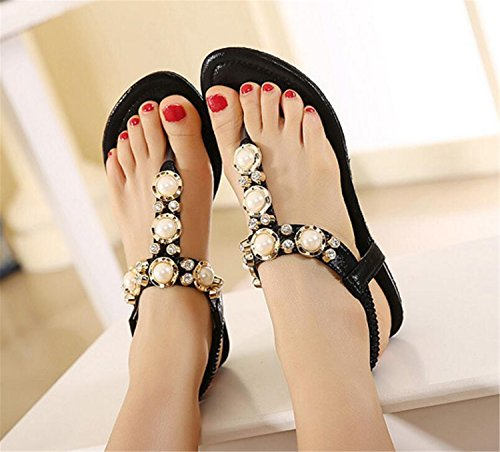 SHUNLIU Damen Sandalen High Heels Frauen Sommer Stiletto