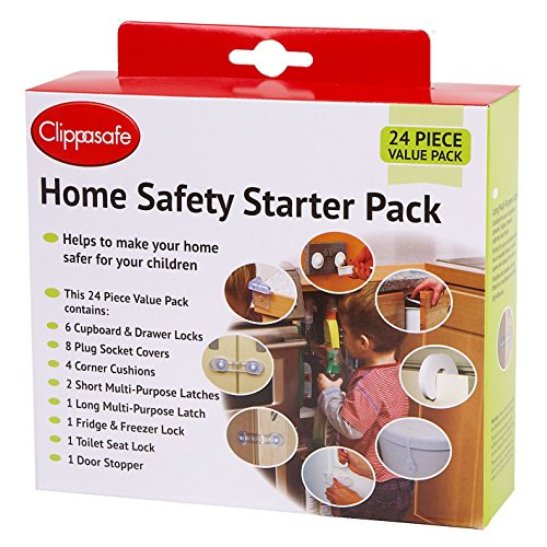 Clippasafe Home Safety Starter Pack (24 Pieces)