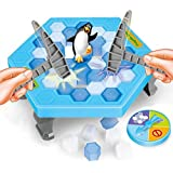 Pepperonz Penguin Trap Puzzle Table Game Ice breaking Game Save the Penguin Kids Early Education Family Game