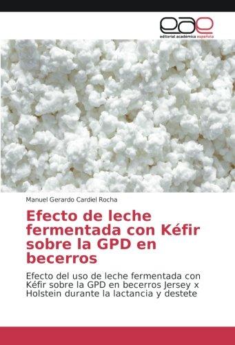 Efecto de leche fermentada con Kéfir sobre la GPD en becerros: Efecto del uso de leche fermentada con Kéfir sobre la GPD en becerros Jersey x Holstein durante la lactancia y destete